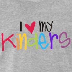 I LOVE My Kinders - Kindergarten teacher t-shirt