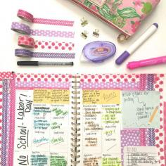Life in Fifth Grade: Plan with me- Visual Plans (Sept 7-11)