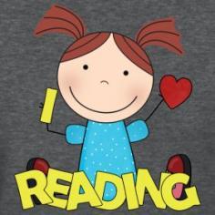 I Love Reading - teacher t-shirt
