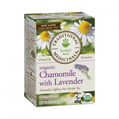 Fair Trade Organic Chamomile One of the sources of Traditional Medicinals organic Fair Trade Certified chamomile is the Royal Ottoman farms which are spread over 4000 acres in Egypt. Royal Ottoman was founded in 1906 in the city of Apotik a Pharaonic name which means the warehouse of medicines and herbs. At Royal Ottoman the fair trade premium is invested in private health care and life insurance plans for the increasing number of women in the workforce especially those women who are the sole supporter for their households. These kinds of benefits are rare in Egypt and are only made possible through your support of Fair Trade products. What will Chamomile with Lavender do for me? The combination of chamomile and lavender with lemon balm has digestive and nervous system sedating properties useful for nervous stomach and restlessness associated with upset stomach Eases Tension Stress and Nervous Stomach USDA Organic Fair Trade Certified Chamomile Herbal Dietary Supplement Caffeine Free Kosher California Certified Organic Farmers - CCOF 100% Organic Ingredients Sustainability Partnership Knowledge Efficacy Sealed Fresh 16 Wrapped Tea Bags 95%+ Organic Kosher Free Fair Trade Certified product Case of 6 Capacity - 16 Bag Dimension - 4.32 x 3.2 x 2.73 in Item Weight - 1 lbs Ingredients German chamomile flower (Chamomilla recutita)