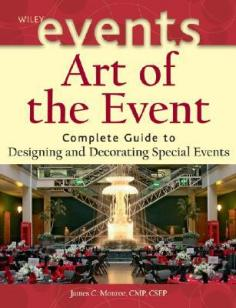 THE WILEY EVENT MANAGEMENT SERIESThe essential guide to making your events extraordinary Practical strategies for designing and decorating special events Event planners need professional-caliber information that explains how to decorate a venue for a special event-from assessing the client's decor needs and objectives to staying within a budget. Art of the Event serves as the ultimate guide to designing and decorating events and celebrations, from eight to 8,000 guests. Written by James C. Monroe, a Certified Meeting Professional (CMP) and Certified Special Events Professional (CSEP) with decades of experience in special event design and decoration, Art of the Event is divided into three comprehensive parts to help readers redefine the modern profession of event design: Principles, Processes, and Practices: examines aesthetics, the design process, and professional practices The Decorative Elements: describes the various decorative elements that are used in special events and discusses how to use them in practical and specific ways The Universe of Special Events: describes various types of events that the designer is asked to create and discusses the different requirements of each, including nonprofit events, corporate events, social events, weddings, fairs, and paradesTHE WILEY EVENT MANAGEMENT SERIES-Series Editor, Dr. Joe Goldblatt, CSEPTHE WILEY EVENT MANAGEMENT SERIES provides professionals with the essential knowledge and cutting-edge tools they need to excel in one of the most exciting and rapidly growing sectors of the hospitality and tourism industry. Written by recognized experts in the field, the volumes in the series cover the research, design, planning, coordination, and evaluation methods as well as specialized areas of event management.