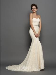 Mermaid Chapel Train Wedding Dresses 51101
