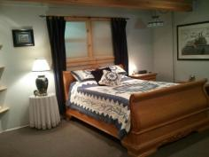 The Oak Suite Bedroom  Mt. Emily Ranch Bed & Breakfast 99847 South Bank Chetco Rd. Brookings, OR 97415