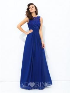 A-Line Floor-length Dress 60081