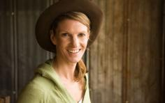 woman at a farm