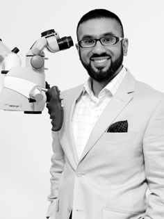 Dr Ayub - Root Canal Endodontics Specialist in Wimbledon, South West London