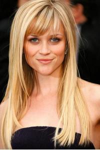 45cm Reese Witherspoon Longue Coiffure Perruques Cheveux Naturels Remy [FS0761] http://www.perruquecheveuxnaturels.com