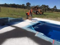 Decorative concrete Brisbane - Resurfacing Brisbane & Stamped concrete Stenciling