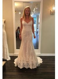 Schlichte Brautkleider Mit Spitze | Hochzeitskleider Meerjungfrau Online