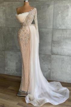 Extravagante Abendkleider Mit Ärmel | Abiballkleider Lang Glitzer