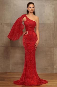 Abiballkleid Lang Rot | Abendkleid Mit Glitzer