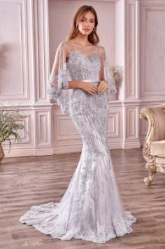 Luxus Abendkleider Lang Spitze | Abiballkleider Online Kaufen
