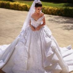 Schöne Brautkleider A Linie Spitze | Hochzeitskleider Günstig